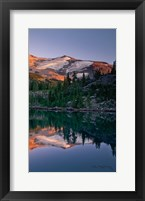 Framed Mount Jefferson Panel III