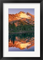 Framed Mount Jefferson Panel II