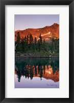 Framed Mount Jefferson Panel I