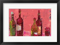 Framed Vino Coral