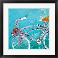 Framed Ride Blue Pink