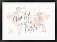 Framed Wonderful World I