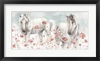 Framed Wild Horses III