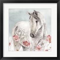 Framed Wild Horses IV