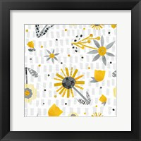 Framed Bloom Boldly Pattern IX