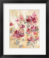 Framed Floral Reflections II