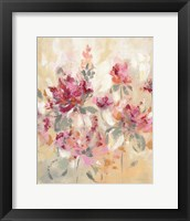 Framed Floral Reflections I
