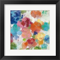 Framed Hydrangea Bouquet I Square III