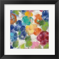 Framed Hydrangea Bouquet I Square II