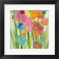 Framed Longstem Bouquet I Square II