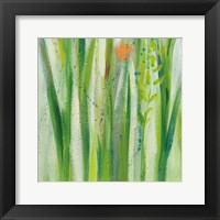 Framed Longstem Bouquet I Square III