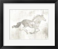 Framed Mustang Study Neutral