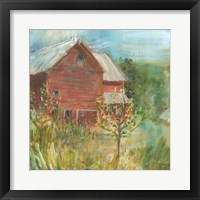 Framed Barn Orchard