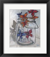 Framed Jar Of Hope