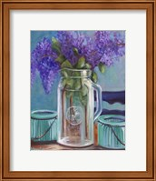 Framed Homestead Lilacs