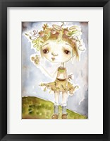 Framed Acorn Princess