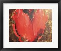 Framed Big Heart
