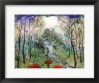 Framed Fairy Forest