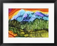 Framed Magic Mountain