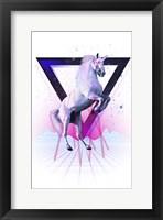 Framed Last Laser Unicorn Tee