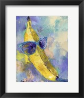 Framed Art Banana