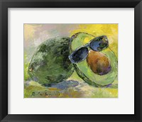 Framed Art Avocado