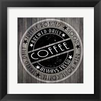 Framed Coffee Signs V3