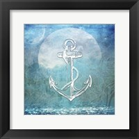 Framed Sailor Away Anchor