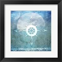 Framed Sailor Away Compass