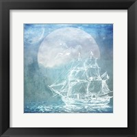 Framed Sailor Away Ship 1