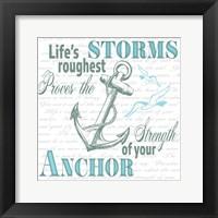 Framed Sailor Away Sign 2