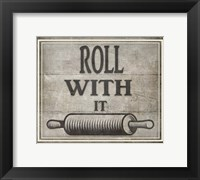 Framed Roll With It BK