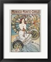 Framed Monaco-Monte-Carlo