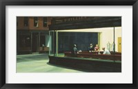 Framed Nighthawks