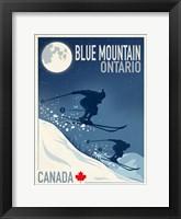 Framed Blue Mountain 1