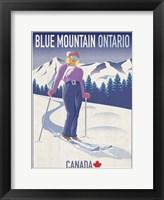 Framed Blue Mountain 2