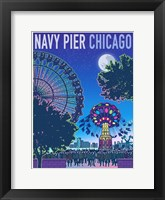 Framed Navy Pier Chicago