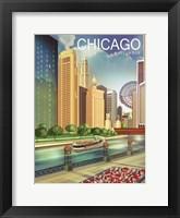 Framed Chicago 1