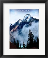 Framed Glacier National Park