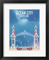 Framed Ocean City Maryland