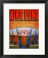 Framed King Pong