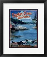Framed Oyster Cove Nova Scotia