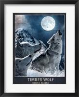 Framed Wolf Moon