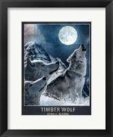 Framed Wolf Moon