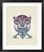 Framed Baby Egypt Owl