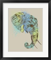 Framed Elephant King