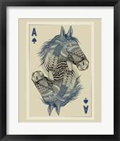 Framed Geo Horse