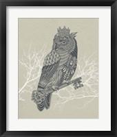Framed Owl King