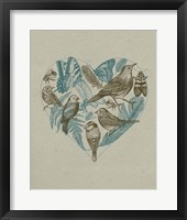 Framed Wild Heart