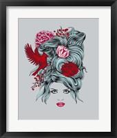 Framed Winter Queen